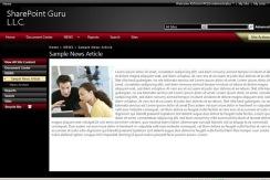 SharePointGuruThemeNews
